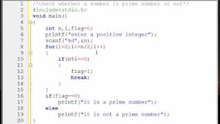 C Programming Bangla Tutorial -26- check whether a number is prime number or not