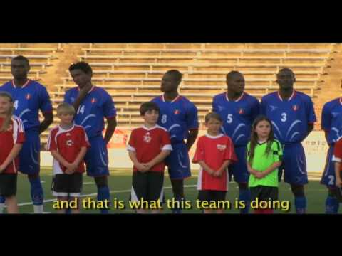 Haiti's National Soccer Team Visits Austin