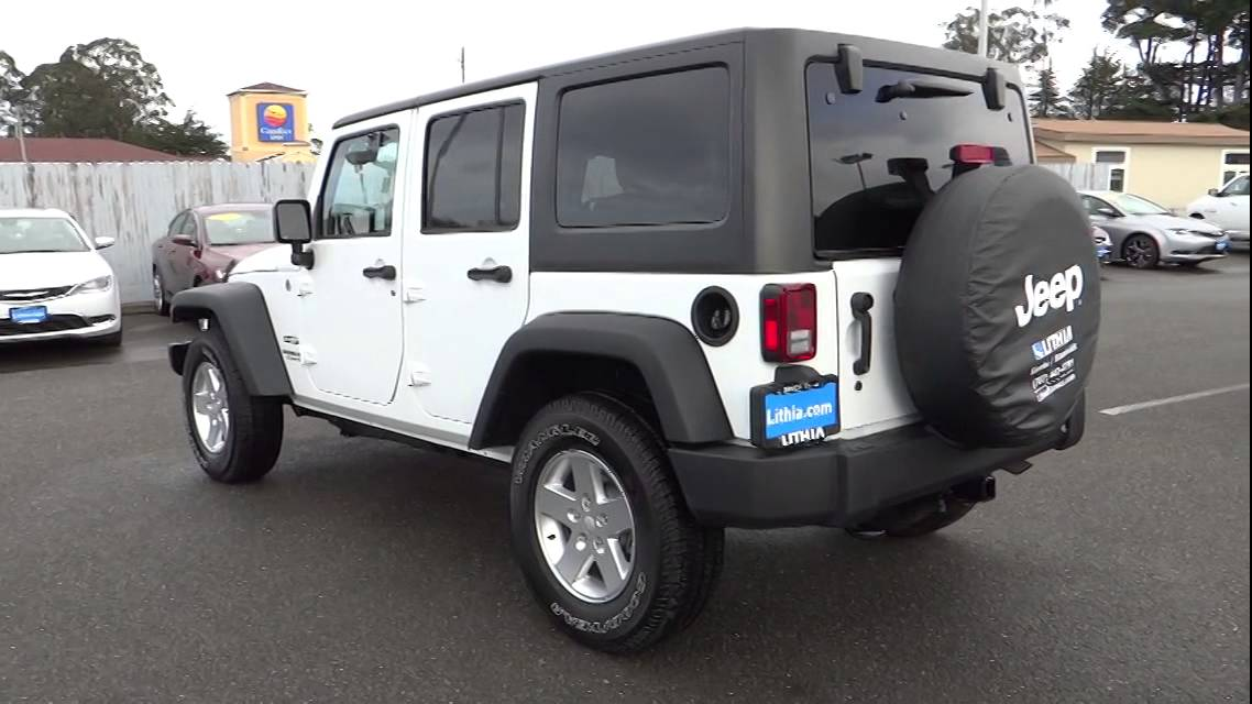 2015 Jeep Wrangler Unlimited Eureka Redding Humboldt