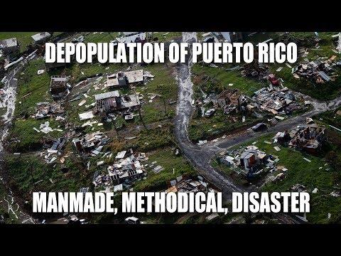 Depopulation of Puerto Rico: Manmade, Methodical, Disaster