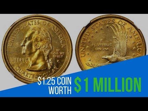 SUPER RARE! $1.25 Washington/ Sacagawea Mule Error Coin Worth Tons of Money
