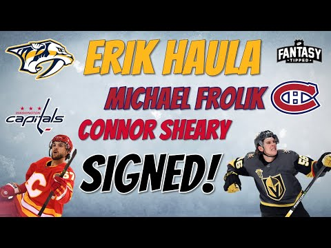 Haula to Nashville, Frolik to Montreal!