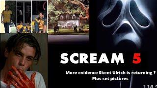 Scream 5 - More evidence Skeet Ulrich is returning for Scream 5