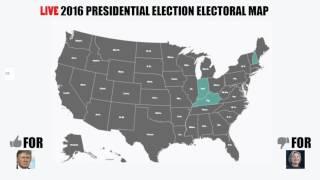 Nov 8th Electoral Map Livestream