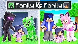 Minecraft MOB Family vs NORMAL Family!
