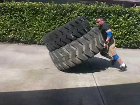 Double Tire Flip