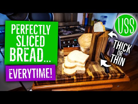 DIY Perfect Slice Bread Board