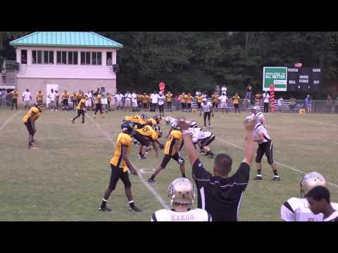 Mountain View Bears 8th grade Div I vs Lawrenceville Black Knights, 9.15.12
