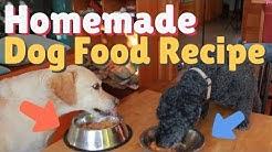 Dog Dinner Date: Homemade Dog Food