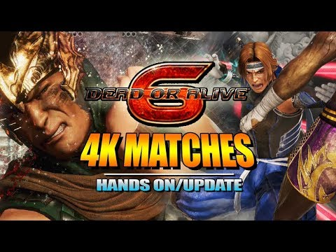 DEAD OR ALIVE 6: Hands On Impressions & 4K Match Footage