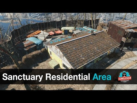 Fallout 4 | Sanctuary Residential Area