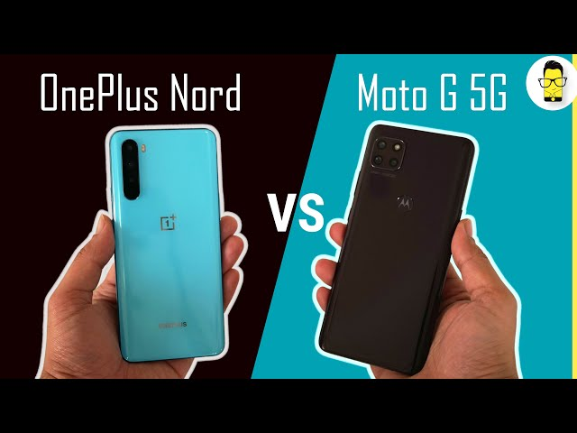 OnePlus Nord vs. Moto G 5G | Which one to buy in 2021?