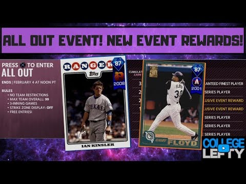 ALL OUT EVENT!! WHAT ARE THE REWARDS?! MLB THE SHOW 18