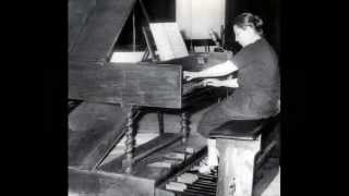 Bach / Isolde Ahlgrimm, 1953: French Suite in C minor, BWV 813
