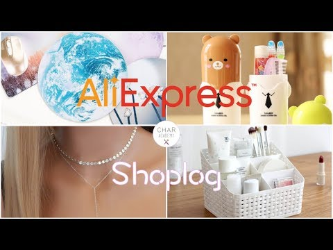 MEGA ALIEXPRESS SHOPLOG | Characademy