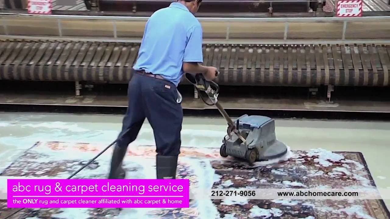 Cleaning Service of the ABC Carpet