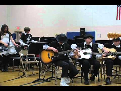 Vega Productions Guitar Program - Friedell Middle School