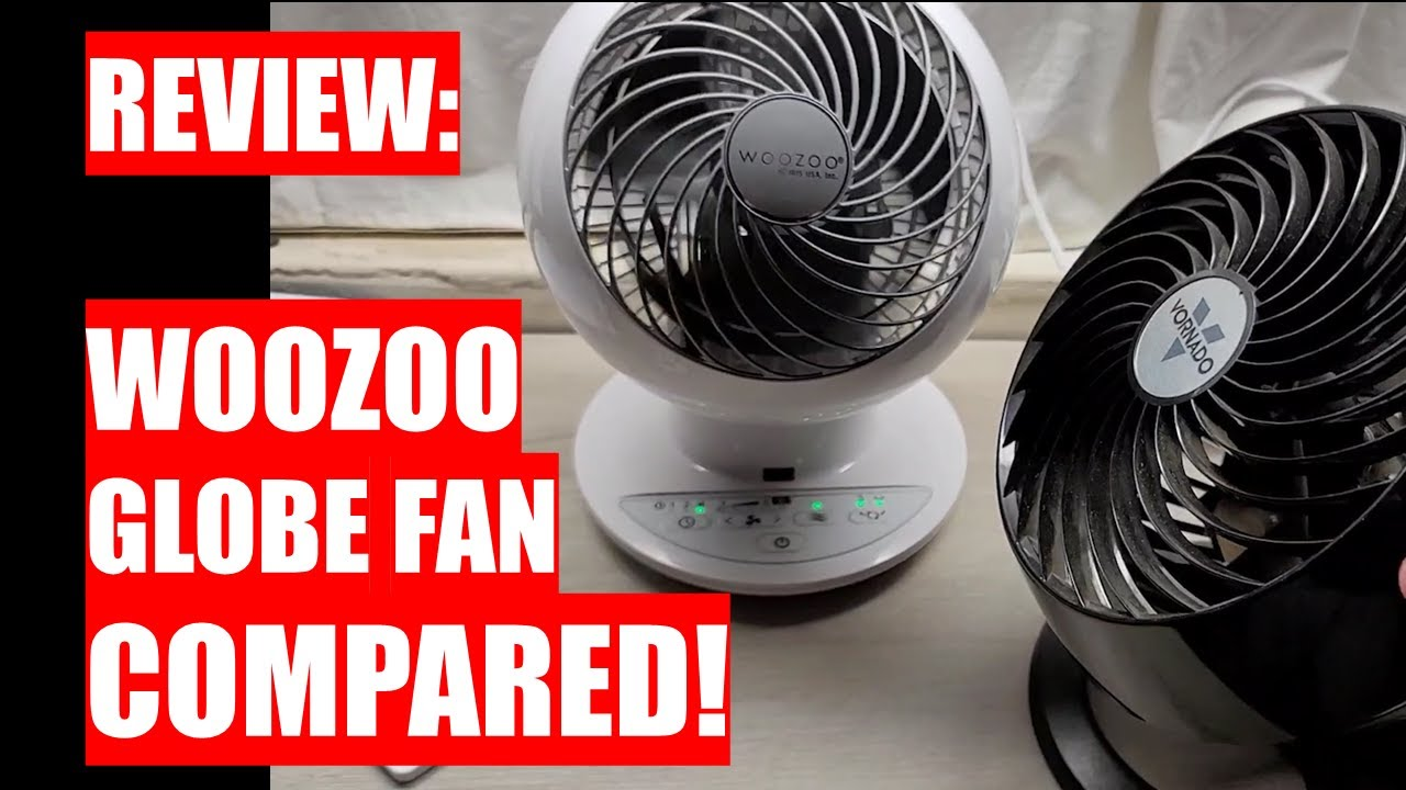 Download REVIEW: COSTCO WOOZOO Globe Fan COMPARED! $34