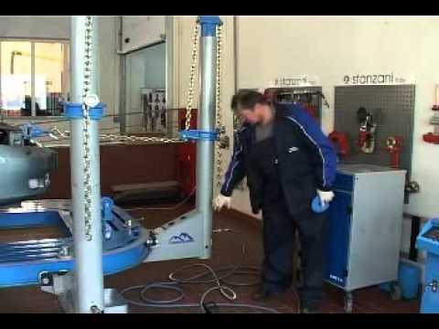 Стапель для восстановления геометрии кузова  Trommelberg