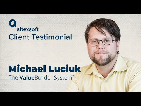 Michael Luciuk, Director, Product Manager at Value Builder System ™