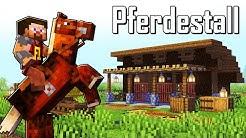 Minecraft Pferdestall bauen deutsch 🐴 Pferdestall in Minecraft bauen