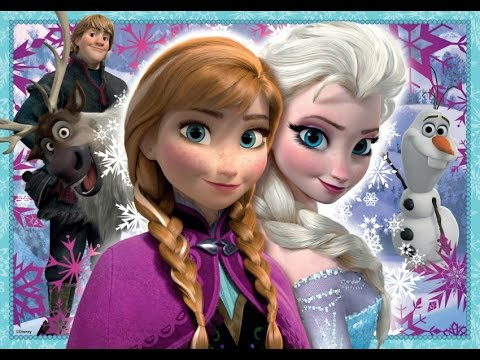 Frozen Android Game Puzzle