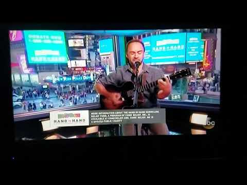 Dave Matthews doing what he does best. Reaching with those lyrics.