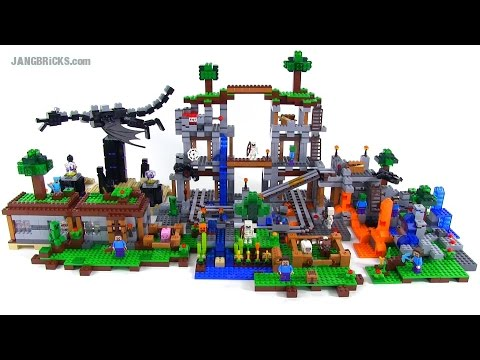 lego minecraft all 2014 sets together youtube. Black Bedroom Furniture Sets. Home Design Ideas