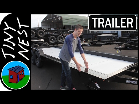 The Best Tiny House Trailer!
