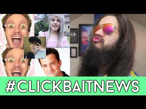 Pewdiepie Is VEGAN? IS CHANDLER BING GAY? please give me views #ClickbaitNews