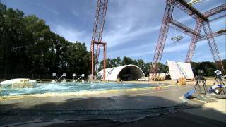 Orion MPCV Water Landing Test at Hydro Impact Basin