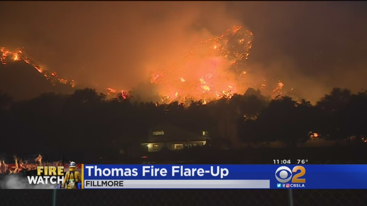 Fillmore Area Thomas Fire Information and Updates - Fillmore