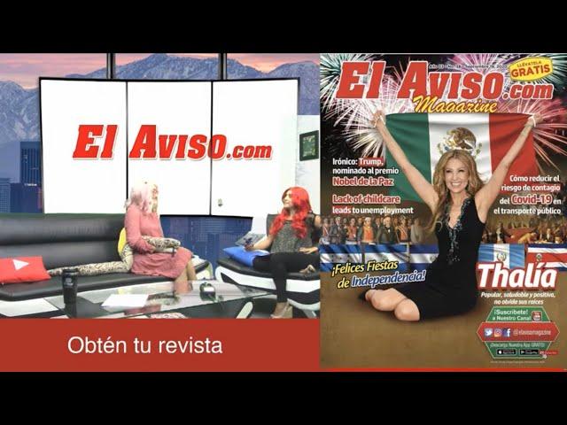 EN VIVO - Thalía en nuestra portada - El Aviso Magazine Ed. 39