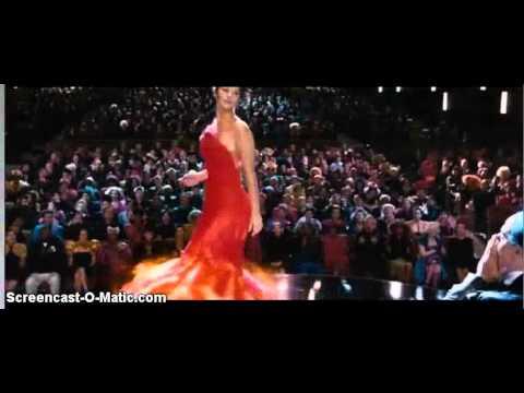 Katniss Everdeen Spinning In Her Dress During Interview Hunger Games