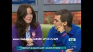 EME15 en Muy Buenos Días RCN - Entrevista en Colombia [28/Septiembre/2012]