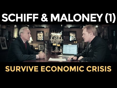 Gold Price TO SOAR, STOCKS WILL CRASH - Peter Schiff & Mike Maloney (Part 1)