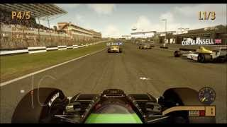 F1 2013 Classic Cars (80's & 90's) Gameplay