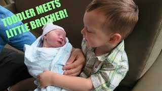 big brother family meet baby for first time