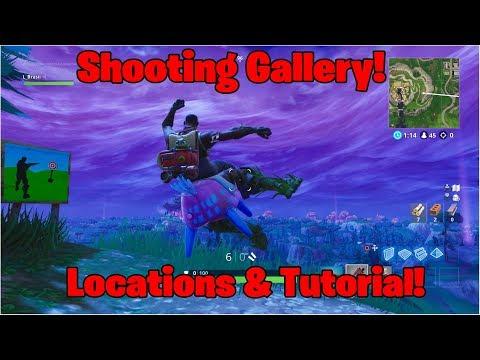 FORTNITE | Shooting Gallery | Location & Tutorial | Season 6 Week 4