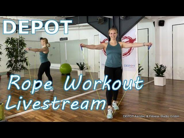 Rope Workout Livestream mit Katrin