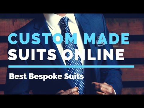 Custom Suits Online | Made To Measure