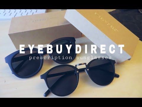 EYEBUYDIRECT sunglasses review + collection | McNCheeseTV