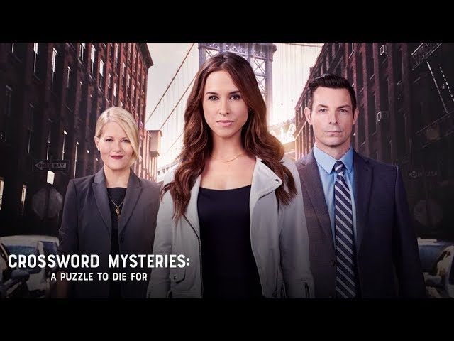 Preview - The Crossword Mysteries: A Puzzle to Die For - Hallmark Movies & Mysteries