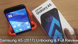 Samsung Galaxy A5 2017 Unboxing & Full Review !! HINDI !!