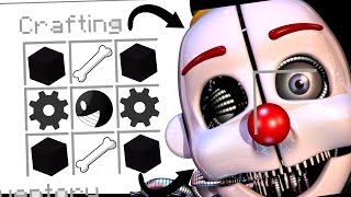 Minecraft Fnaf - How To Summon Ennard In A Crafting Table (Minecraft Roleplay)