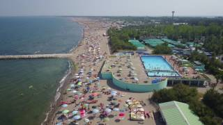 Volo sulla Spiaggia di Rosolina Mare RO