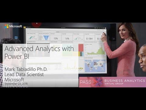 Advanced Analytics With Power BI