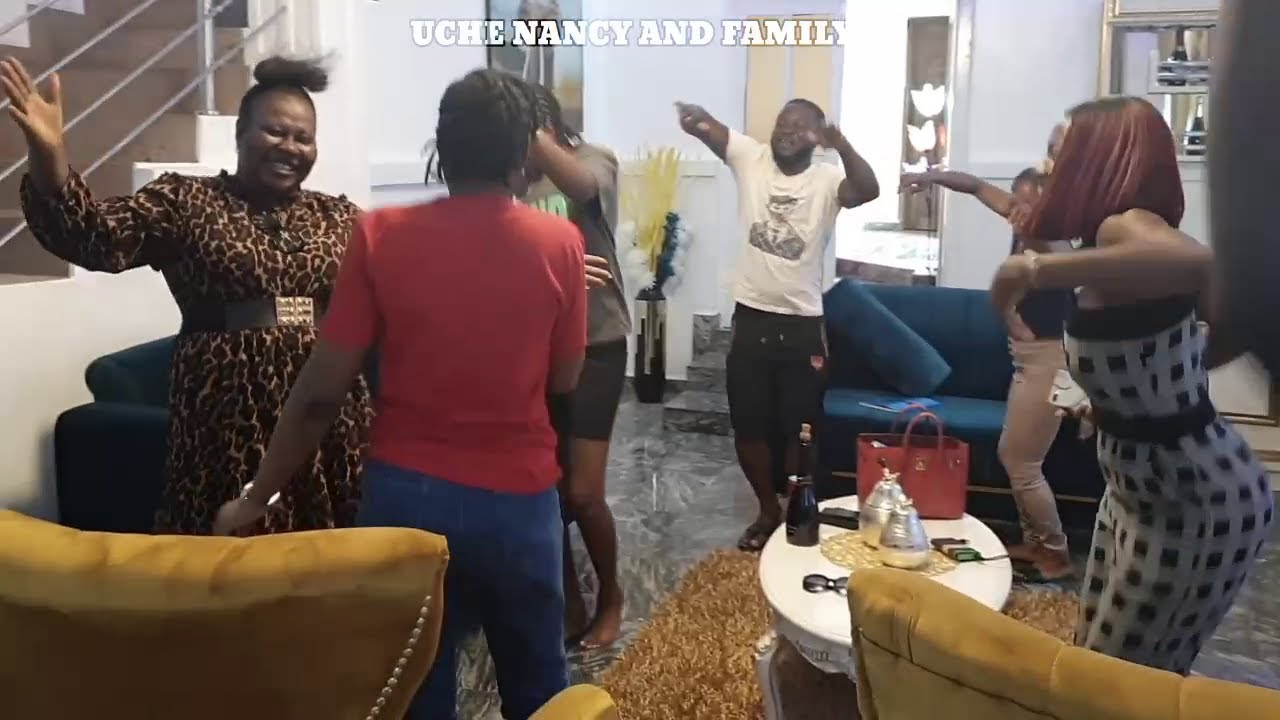 THIS VIDEO WILL MAKE YOUR DAY. THE HOUSE ENGAGED ON WHAT LOOKED LIKE A DANCE COMPETITION. ENJOY