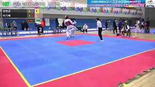 [2코트] 2021 경기도종별 태권도대회(겨루기·품새)…
