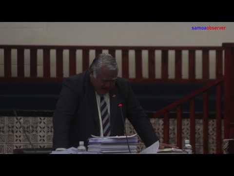 Samoa's new Head of State